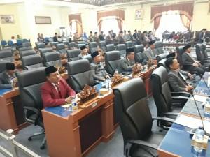 Paripurna Istimewa DPRD Lamtim Hanya Dihadiri 15 Anggota
