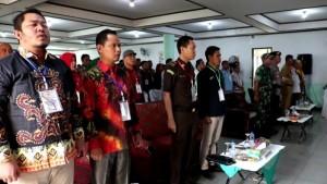 Penghitungan Suara Di Tanggamus Dijaga 150 Personel Keamanan