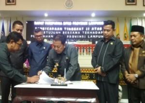 DPRD Setujui Raperda APBD-Perubahan 2019