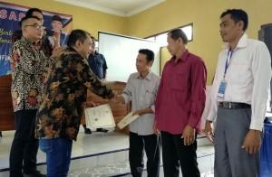 Warga Kurungannyawa Sambut Kedatangan Ketua Fraksi Nasdem MPR