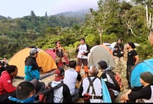 Daki Gunung Tanggamus, Pegawai Lapas Kotaagung Tanam Pohon