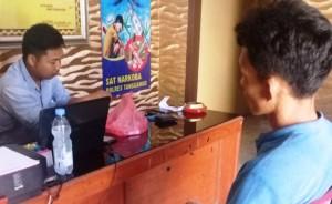 Polisi Tangkap Terduga Pengedar Di Pekon Margakaya