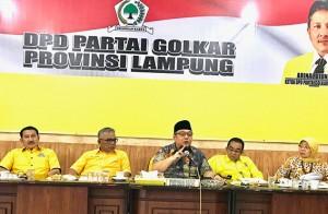Tony Eka Chandra Ajak Kader Jaga Soliditas Golkar Lampung