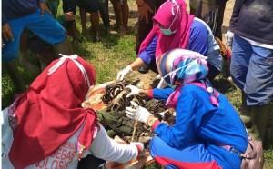 Warga Temukan Tulang Belulang Manusia Di Semak Belukar