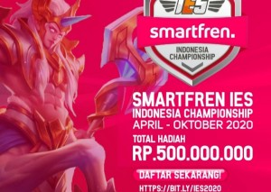 Kampanyekan <i>Stay At Home</i>, Smartfren Gelar Kompetisi E-Sport Berhadiah Rp500 Juta