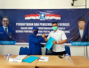 Enam Kader Ikuti Penjaringan Bacalon Ketua PAN Lampung