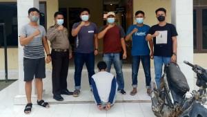 Polsek Penawartama Ungkap Pencuri Motor Di Parkiran Masjid