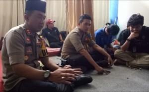 Wartawan Boikot Kunjungan Wakapolri, Kapolres Lamsel Minta Maaf