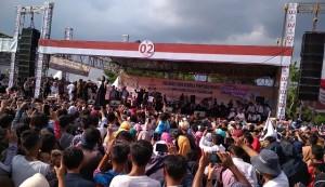 Ribuan Orang Hadiri Konser Indonesia Menang Di Metro