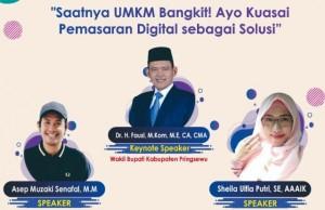 STMIK Pringsewu Dan Kagama Gelar Webinar Saatnya UMKM Bangkit