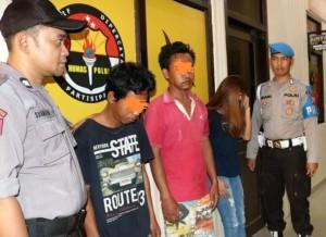 Bekuk Tiga Pengguna Sabu, Satnarkoba Amankan 50 Butir Amunisi Aktif Di Pringsewu