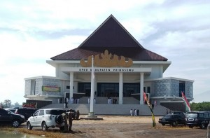 Peringati HUT Ke 9 Kabupaten,  DPRD Pringsewu Rapat Paripurna Di Gedung Baru