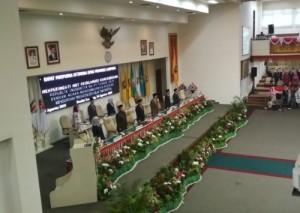 Dengarkan Pidato Presiden, DPRD Gelar Paripurna