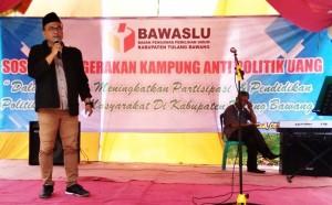 Bawaslu Sosialisasi Gerakan Kampung Anti Politik Uang