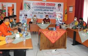 Lamtim Zona Hijau Covid-19, BNPB Apresiasi Langkah Pemkab
