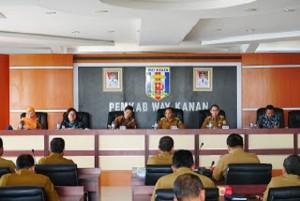 BPK Lakukan Pemeriksaan Di Kabupaten Waykanan