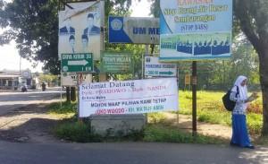 Sambut Kedatangan Prabowo, Warga Metro Tetap Pilih Jokowi