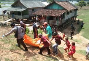 Mayat Tak Dikenal Ditemukan Terapung Di Sungai Batanghari