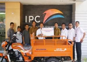 IPC Panjang Beri Bantuan Motor Sampah