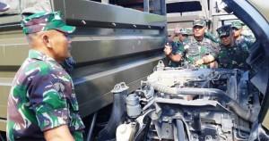 Cek Armada, Danbrigif: Kelayakan Kendaraan Syarat Vital Operasional