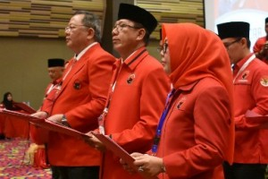 Ini Para Petinggi PDIP Lampung Periode 2019-2024