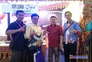 Nusantara Ekpo 2017, Stand Lampung Barat Terbaik Nasional