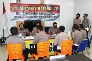 Itwasda Polda Lampung Inspeksi Ke Polres Pringsewu