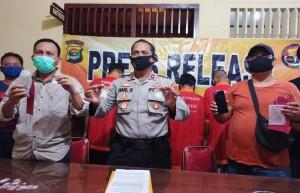 Polisi Tangkap Empat Terduga Pengedar Narkoba