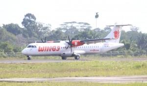 Dishub Pesibar Siapkan Bus Angkutan Penumpang  Pesawat Wings Air