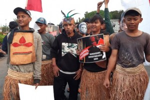 Semangat Perdamaian Mahasiswa Asal Papua