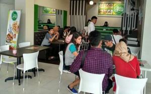 Kedai Urang Lampung Walk Andalkan Cuankie Dan Oreo Cappuccino
