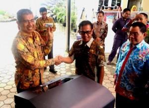 Pemkab  Mesuji Terima Bantuan Mesin Printer Dari KPP Pratama Kotabumi