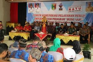 Program Bude Sar'i Terlaksana Di Delapan Kecamatan