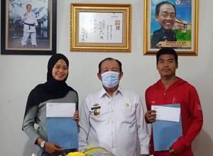Dua Karateka Lampung Dipanggil Bergabung Ke Pelatnas
