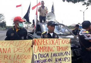 GMBI Tuding Inspektorat Lakukan Pembiaran Dugaan Korupsi Dana Desa