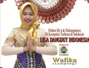 Fika Siap Harumkan Nama Lampung Di Liga Dangdut Indonesia