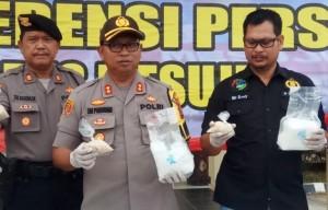 Polres Gagalkan Penyelundupan Narkotika Asal Aceh