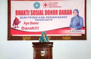 TP PKK Pesibar Baksos Donor Darah
