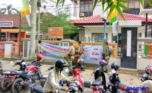 Sat Pol PP Metro Tertibkan PKL Dan Parkir Liar