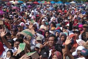 Ribuan Warga Mesuji Gemakan Shalawat Bersama Nassar Dan Arinal