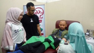 GO-JEK Dan Mitra Driver Gelar Donor Darah