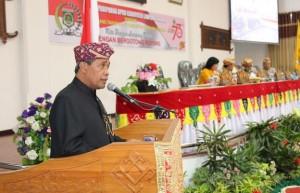 Rapat Paripurna HUT Ke 73 Lamteng, Bupati Ajak Seluruh Elemen Bersatu