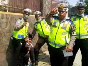 Satlantas Polresta Bekuk Penyalahguna Narkoba
