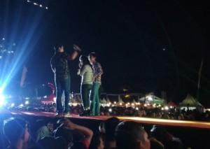 Bawakan Delapan Lagu, Hijau Daun Meriahkan Pesta Rakyat