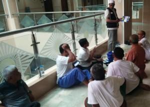 Petugas Haji Sosialisasikan Penghentian Jatah Katering