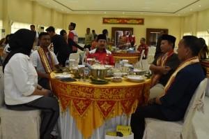 Mahasiswa Asing Cicipi Makanan Khas Lampung