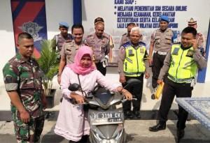 Sempat Ditodong Senpi, Anggota Satlantas Polresta Gagalkan Aksi Curanmor