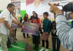 Kompetisi Catur Piala Bupati PALI, Dua Pecatur Junior Lampung Raih Juara Pertama