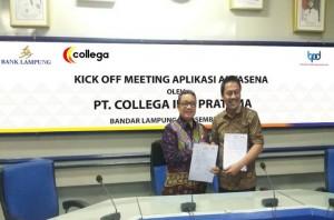 Bank Lampung - PT CollegaKerja Sama Aplikasi BI-Antasena