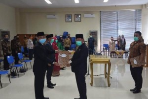 Pemkab Mesuji Punya Empat Pejabat Baru